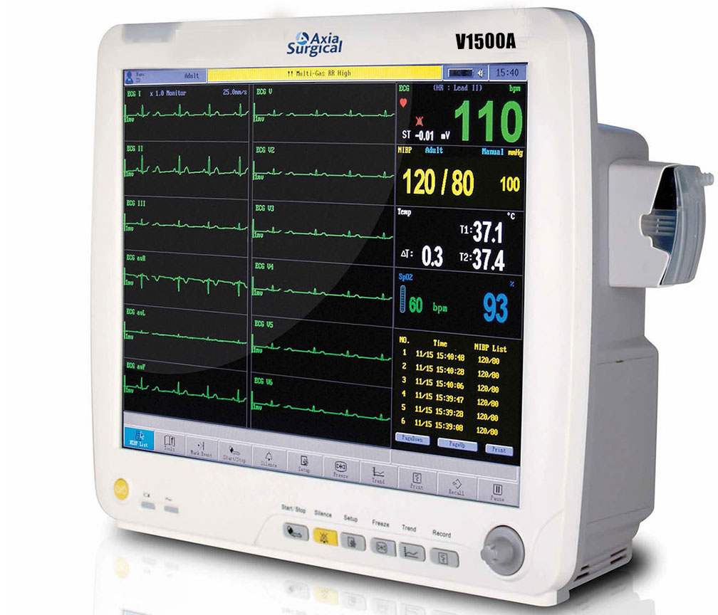 Varsatile And Portable Patient Monitor Offering Ecg